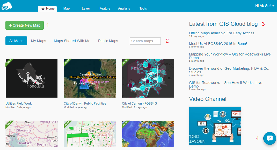 Print | GIS Cloud User Manual