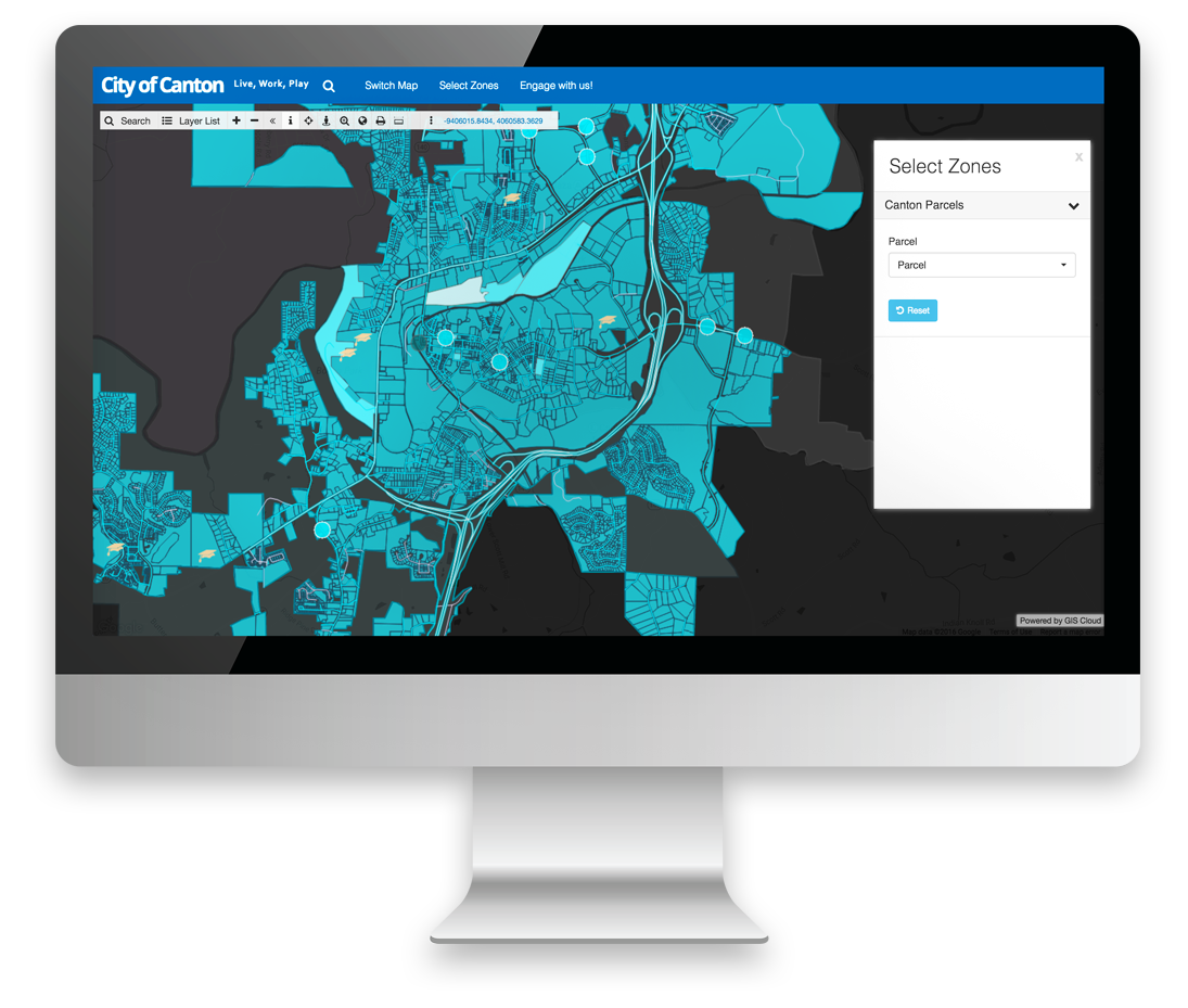 Map Portal is a GIS Cloud Application for making maps and gis data publicly available to community or privately to your users, and it can dislpay multiple maps.