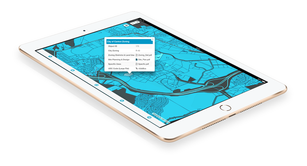 MapViewer is a GIS Cloud Application that decision makers can use to collaborate with colleagues and view maps and data even offline maps to make important decisions.