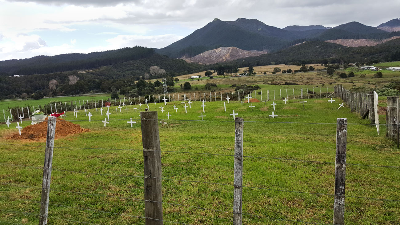 Mapping Burial Grounds in New Zealand