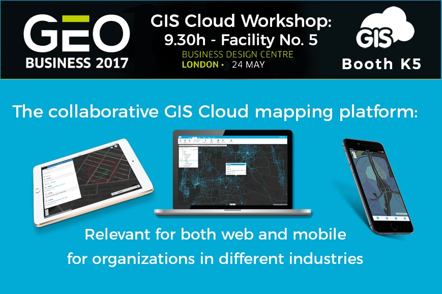 GIS Cloud workshop in London 2017