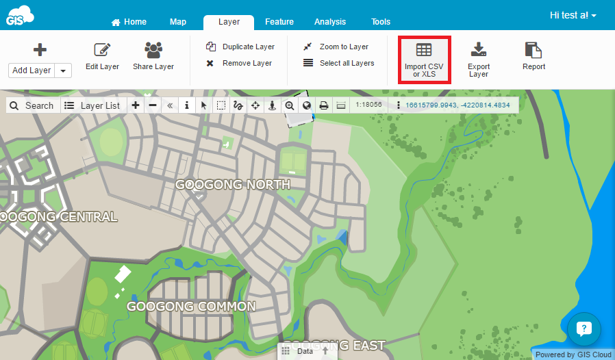 System Files Add A Layer From A CSV File—Get Started With Map Viewer