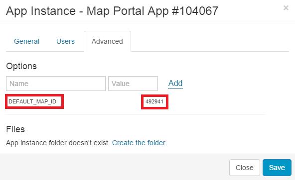 map portal setup3
