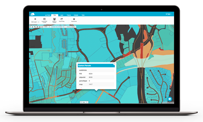 Map Editor - Try it for Free | GIS Cloud on