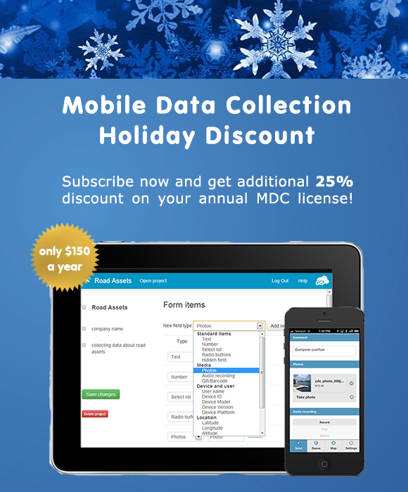 Discount Mobile Data Collection