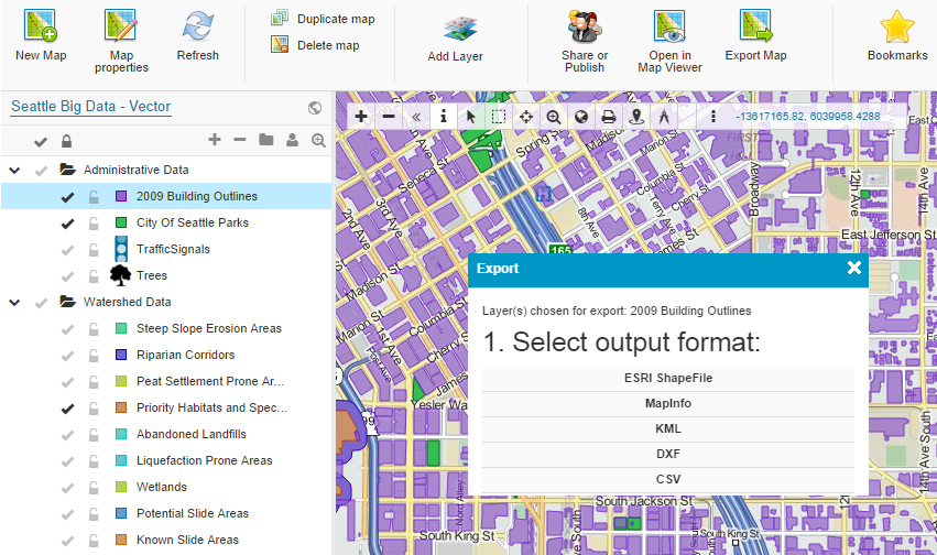 Map Editor - Try it for Free | GIS Cloud
