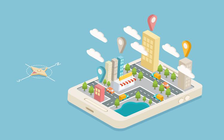 city map-s