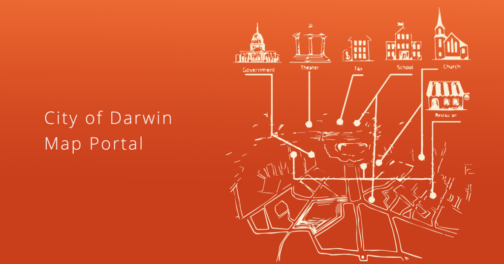 City of Darwin map portal