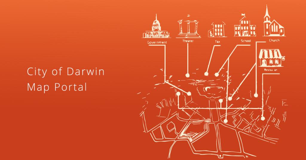 City of Darwin map portal