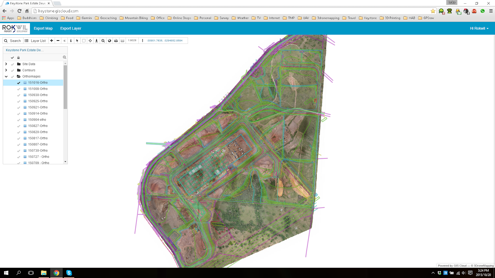 Sharing 3D Drone Mapping Imagery With Clients | GIS Cloud