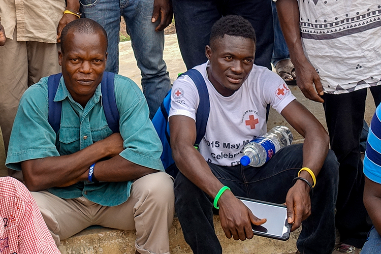 Liberia Field Data Collection with Smartphones