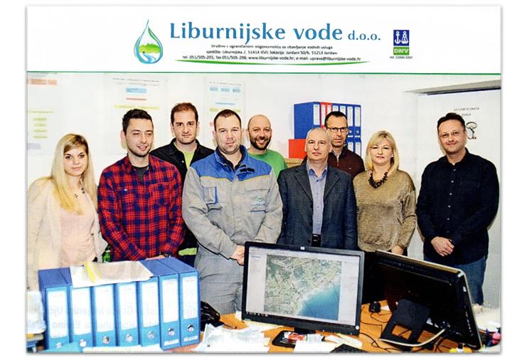 Liburnijske vode GIS software