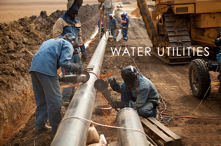 water utilities field data collection