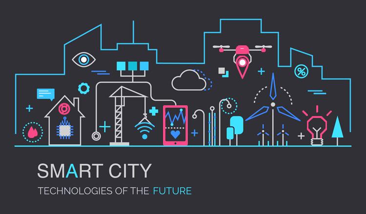 Smart City GIS Cloud technology