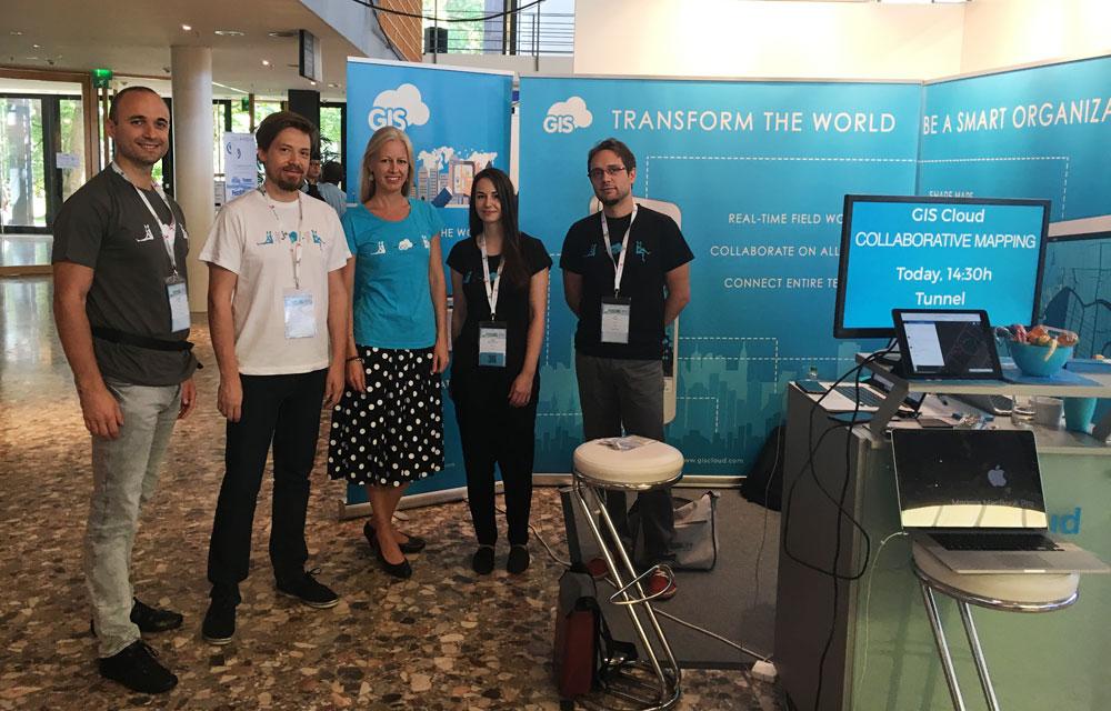 GIS Cloud and Athina Trakas at FOSS4G 2016 in Bonn