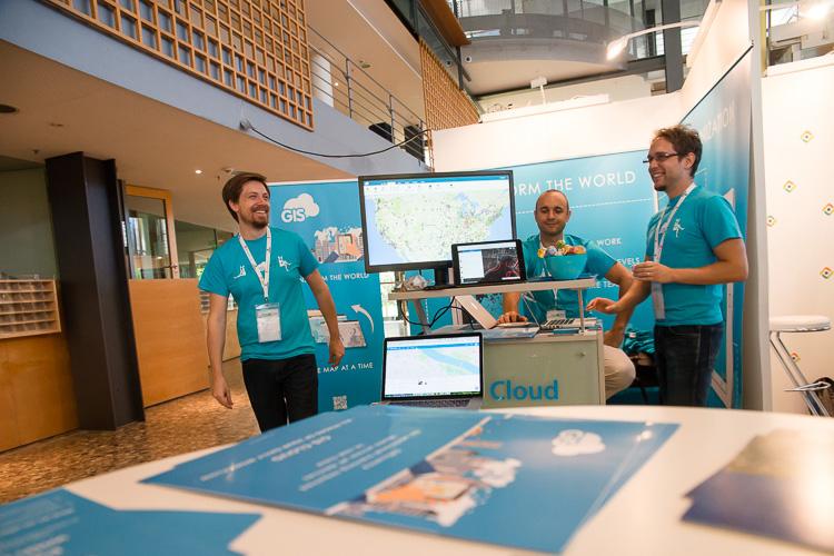 GIS Cloud team in Bonn