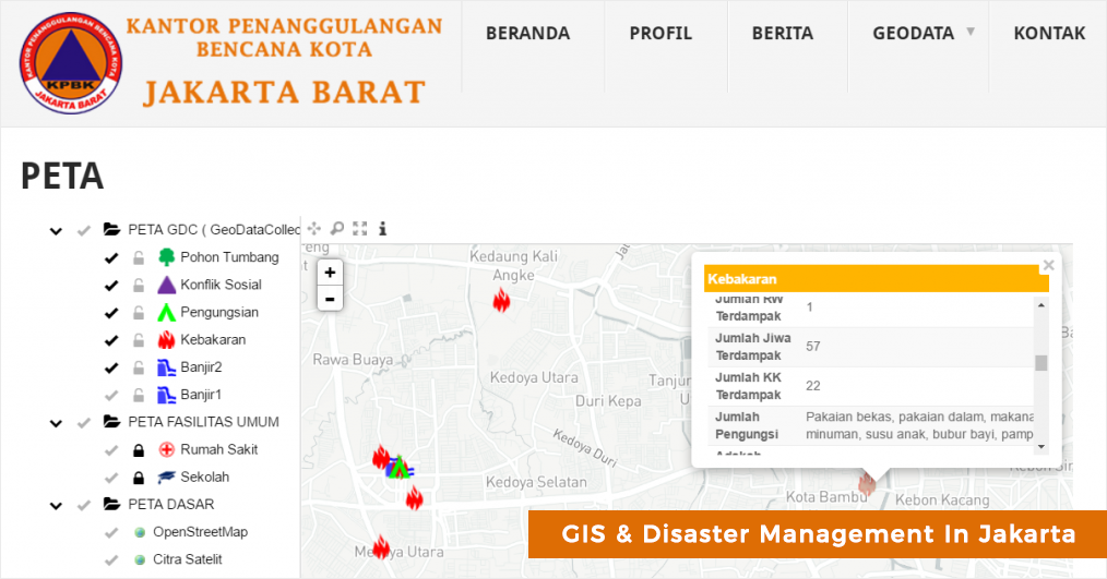 gis in disaster managment