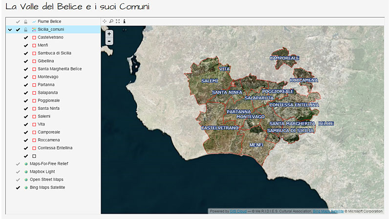 Mapping the Italian Heritage