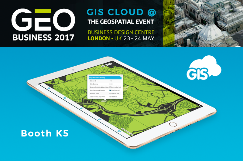 Geo Business Stand number K5 and Cloud Workshop
