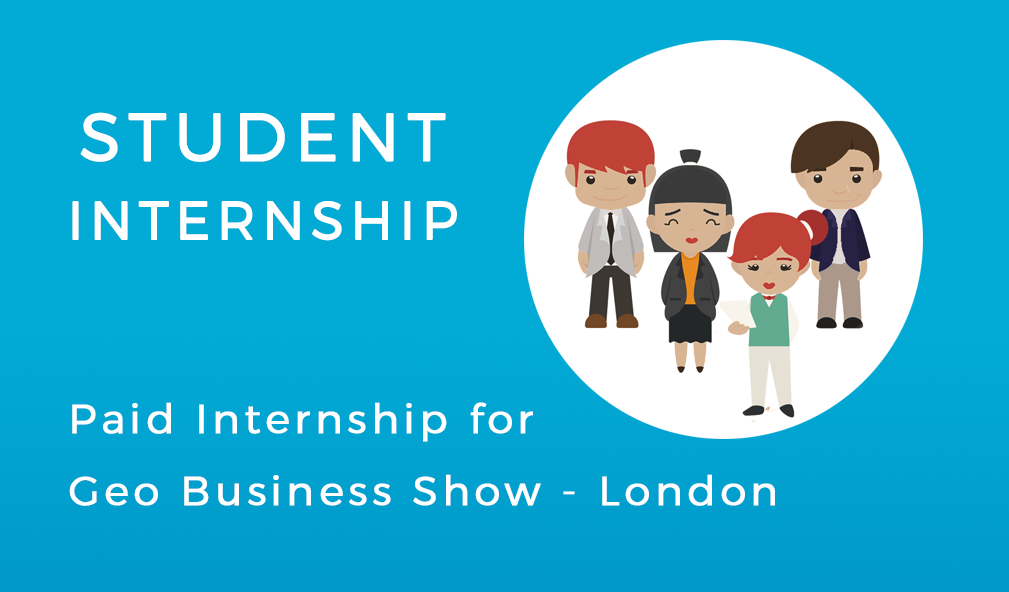 Internship at the Geo Business Show 2017 in London