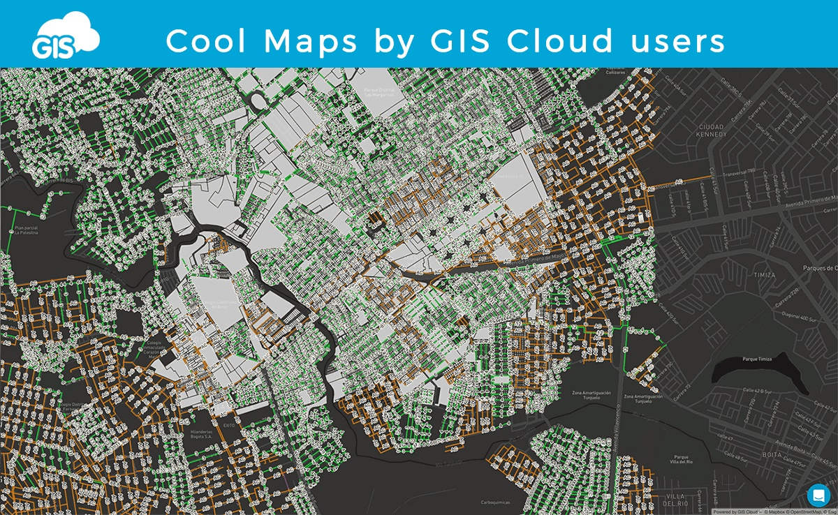Cool Maps By GIS Cloud Users GIS Cloud - Cool maps of the us