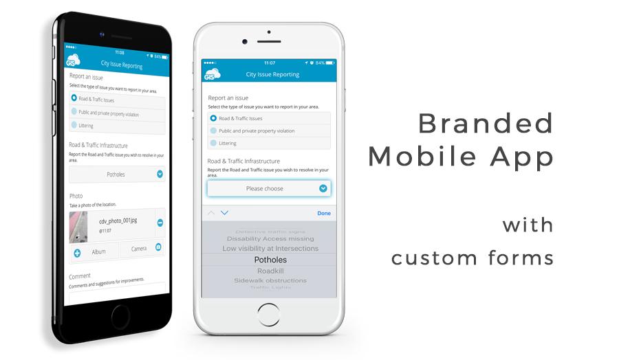GIS Clodu Crowdsourcing mobile apps