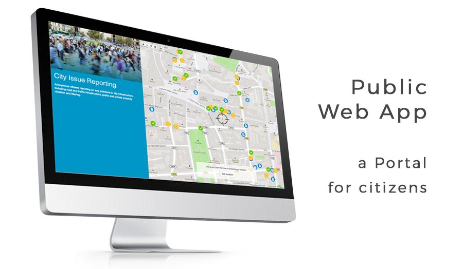 Public web portal for crowdsourcing