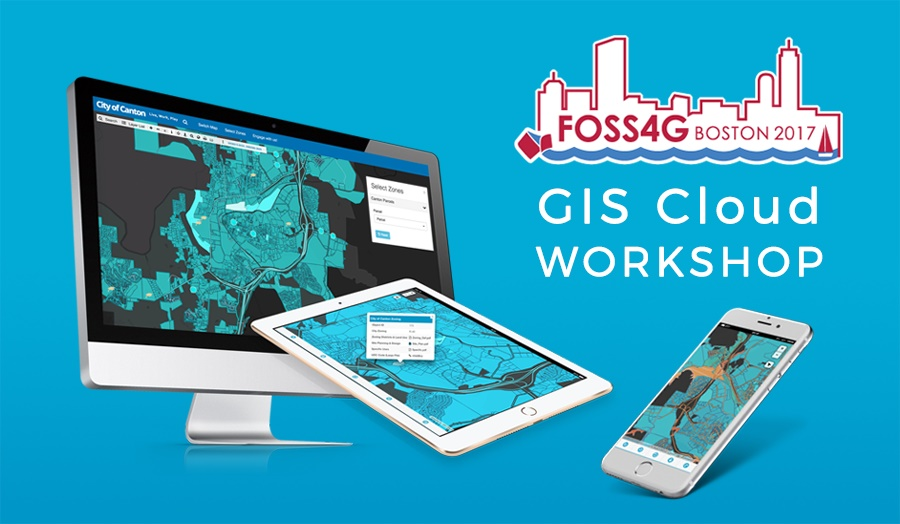 GIS Cloud at OSGEo FOSS4G event in boston