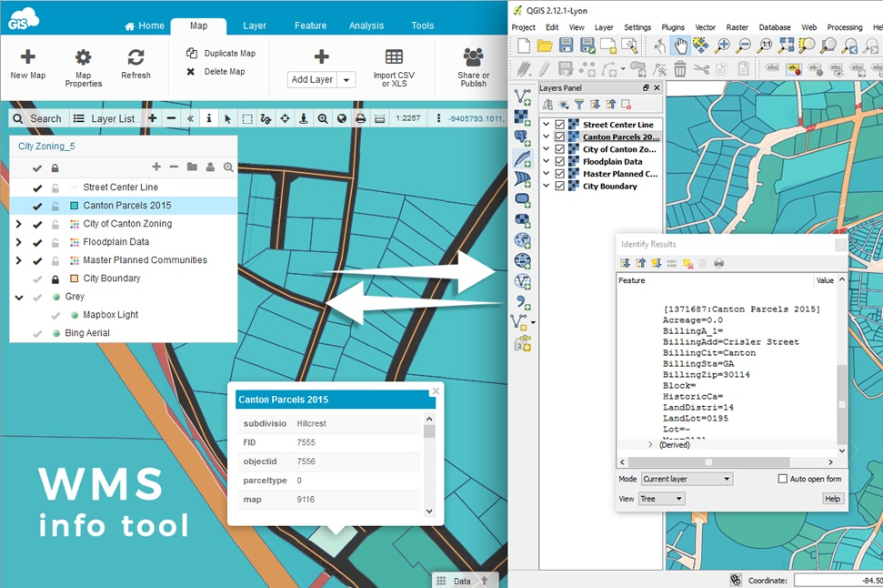 New features in GIS Cloud