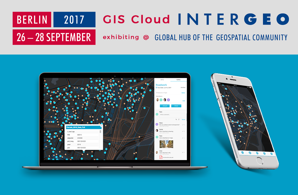 GIS Cloud exhibiting in Berlin, Germany