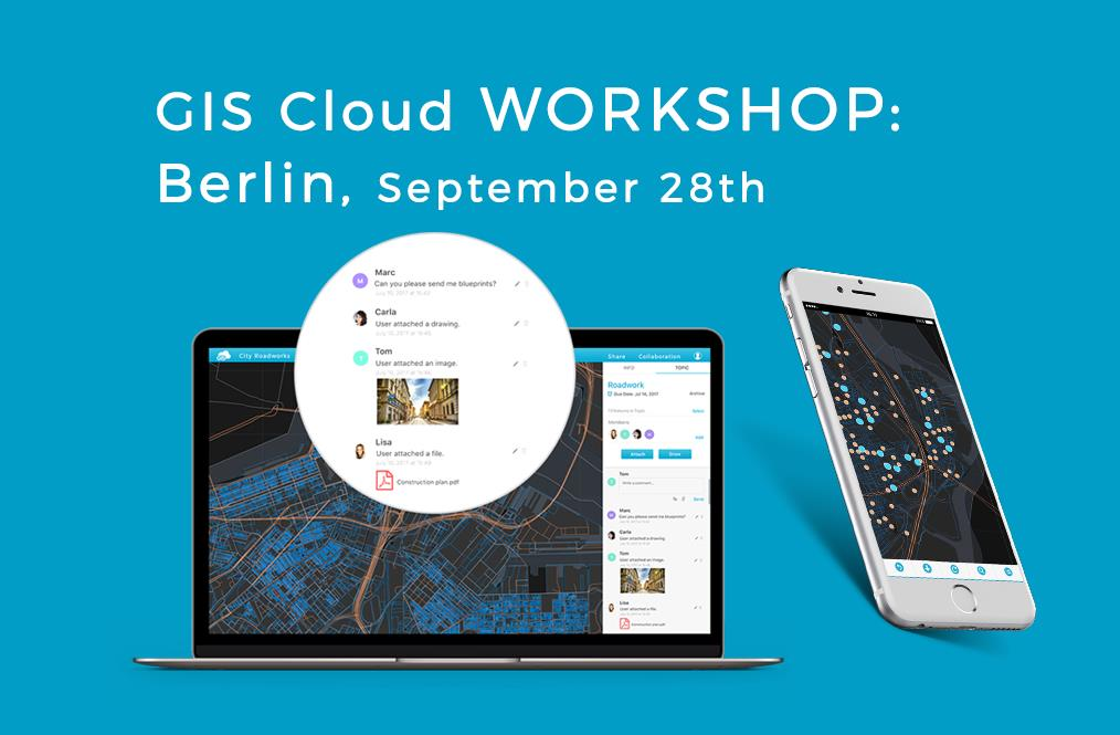INTERGEO GIS Cloud live demo side event