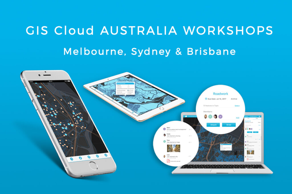 Free GIS Workshops in Australia 2017