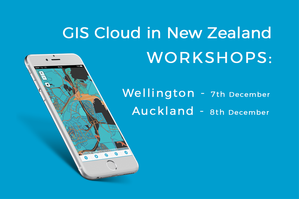 GIS Workshops in Auckland and Wellington
