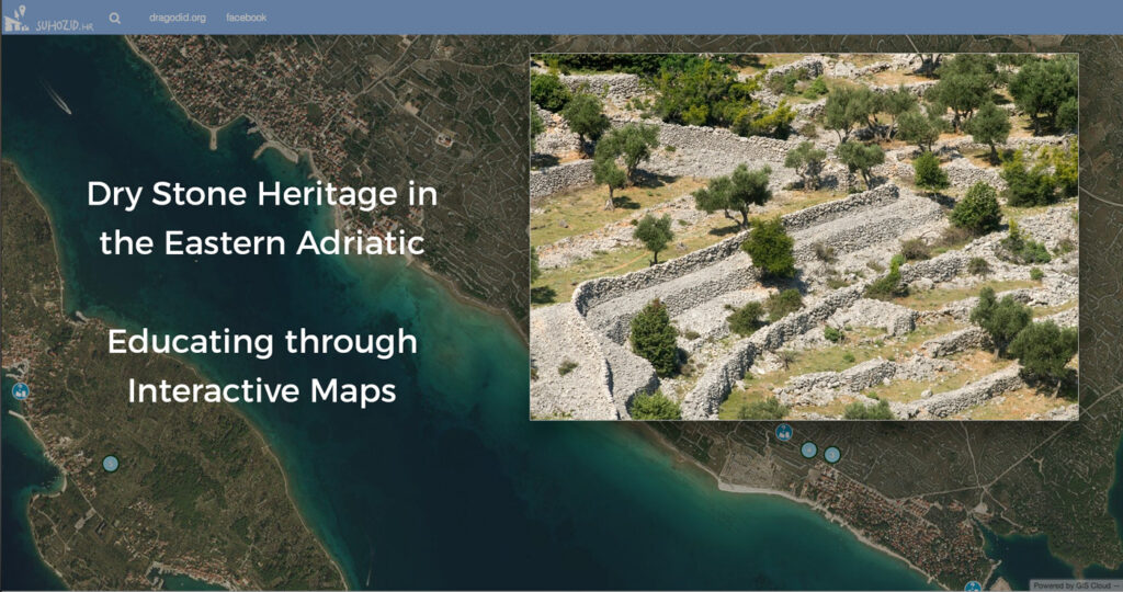 Mapping cultural heritage in Croatia