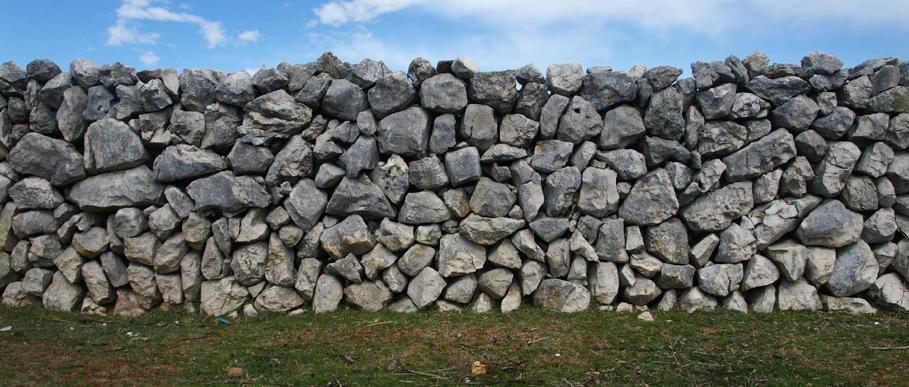 dry stone wall 4 GRADA DRAGODID