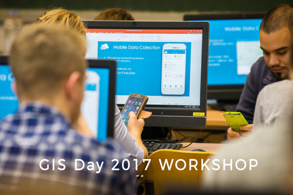 GIS Cloud Workshop GIS Day 2017 student Universitly of Zagreb