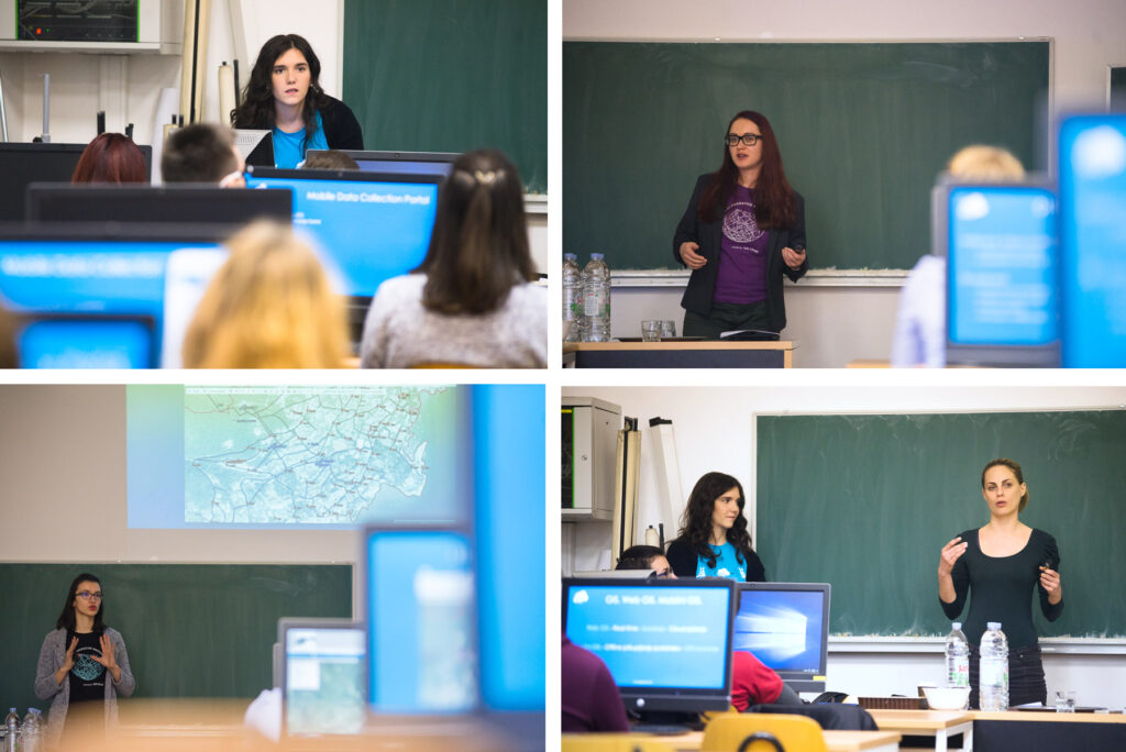 GIS Cloud Workshop GIS Day Students University of Zagreb
