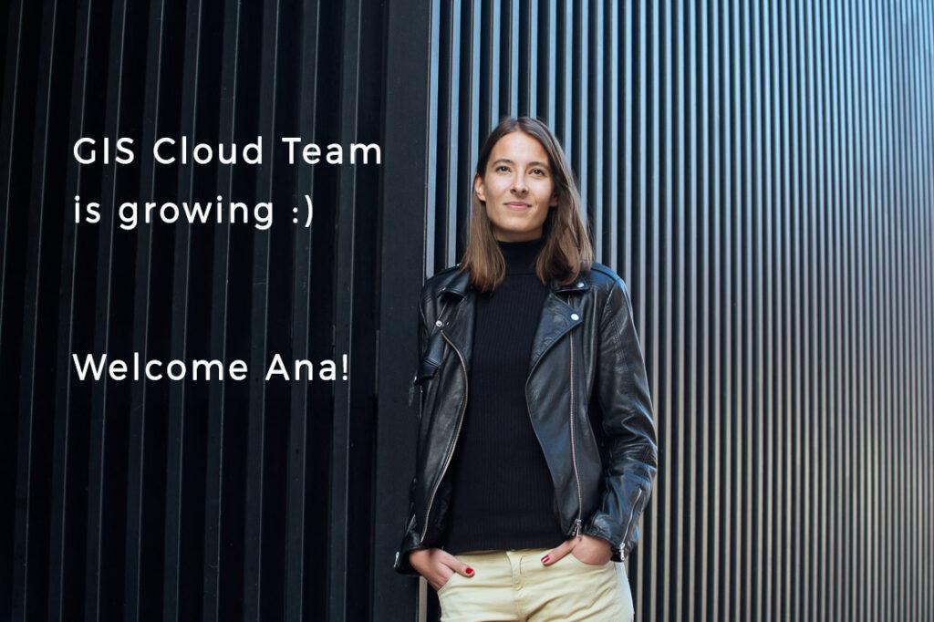 Ana new member gis cloud team career