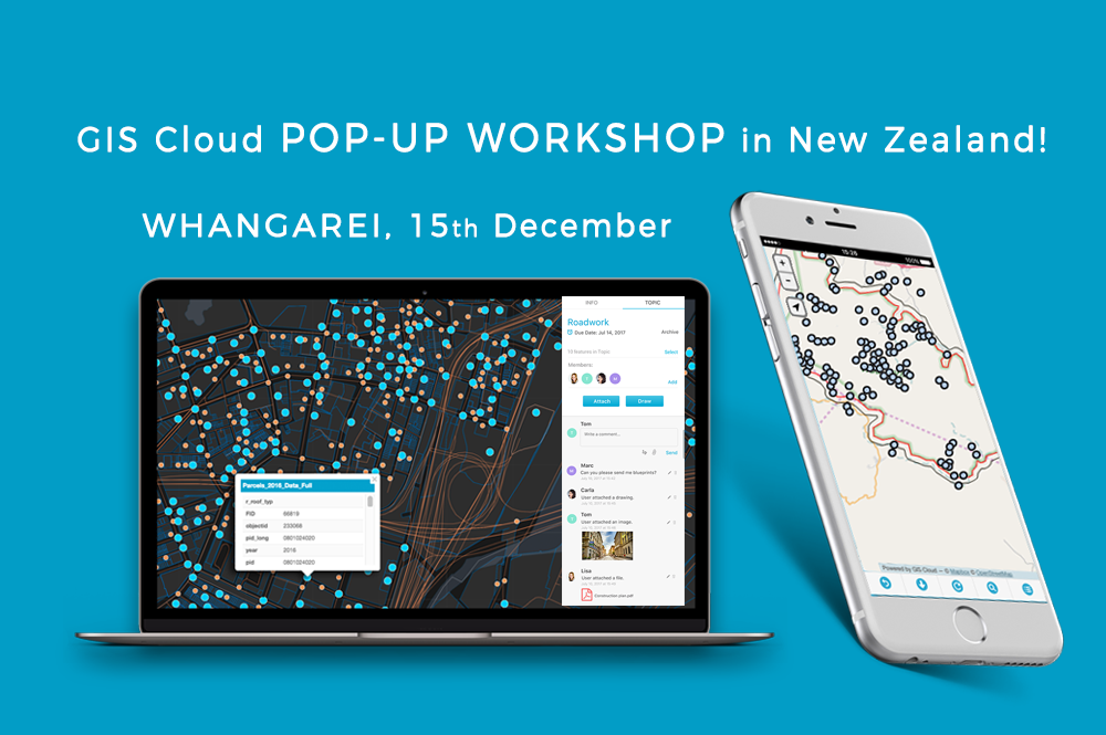 Learn web mapping for free in New Zeland