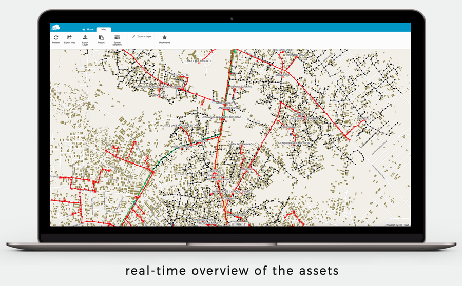 Mapping Electric Network, Assets Registration and Customer Enumeration project for Utilities