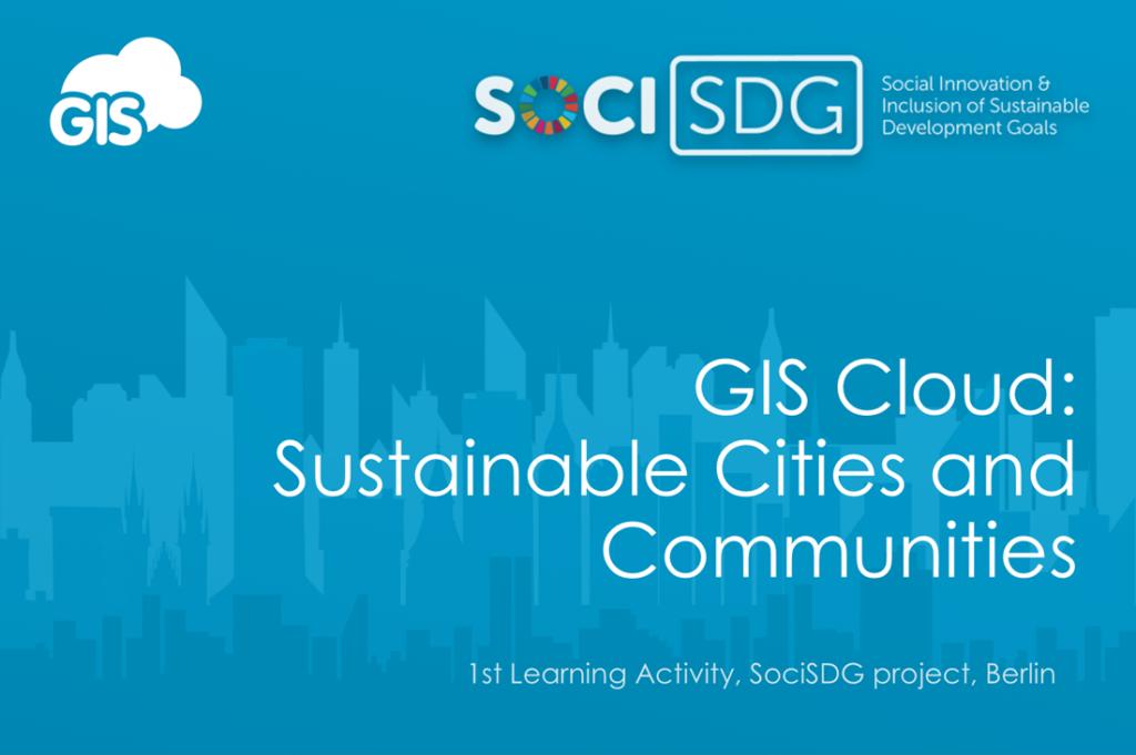 GIS for Sustainable Development presentation