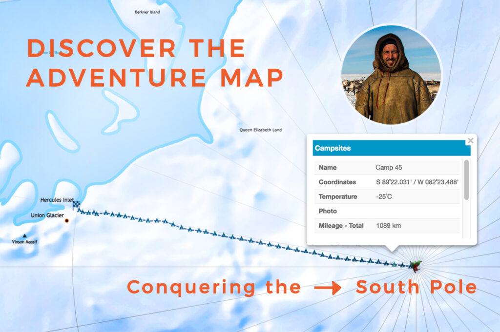 Mapping Rostuhar journey to Antarctica