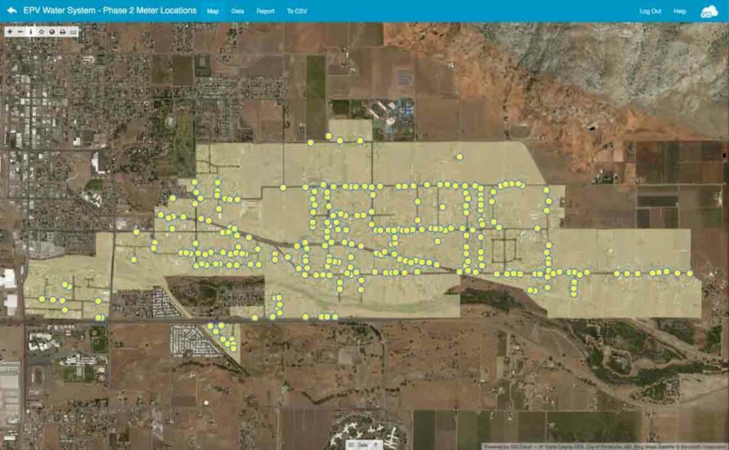 Mapping Water Wells in California
