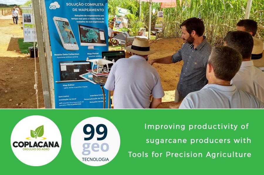 compla gis sugarcane plantantions brasil maintenance