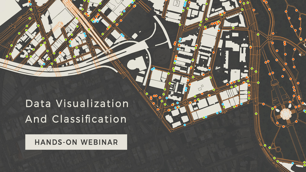Learn how to visualize and classify data in GIS Cloud