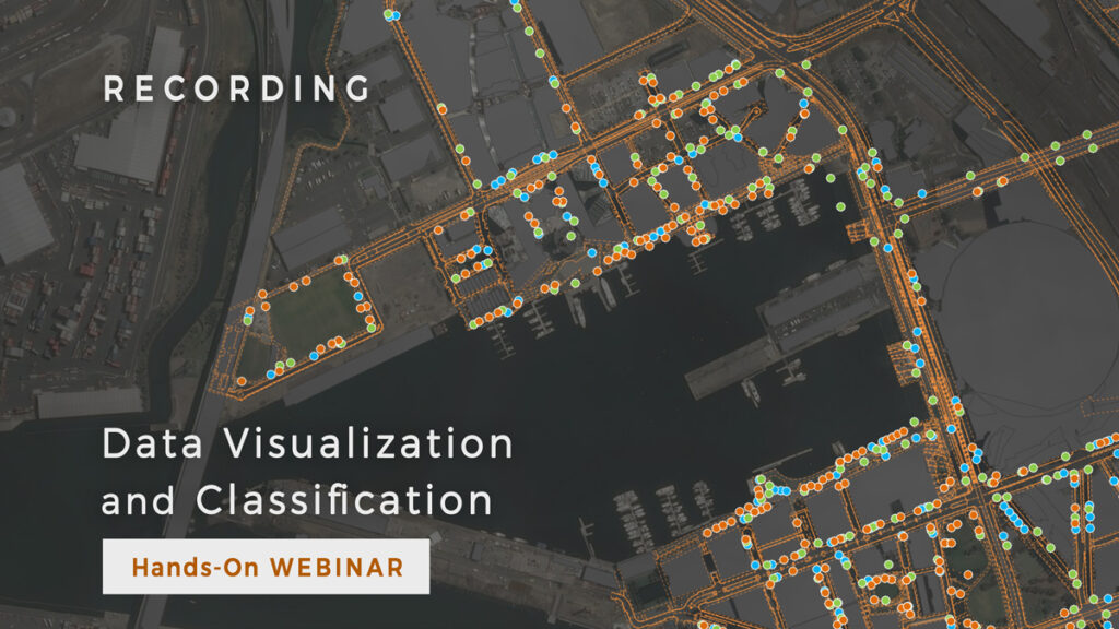Learn how to visualize and classify data in GIS Cloud (Tutorial)