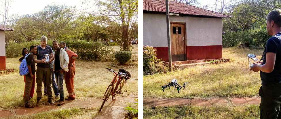 Engineers Without Borders mapping with drones