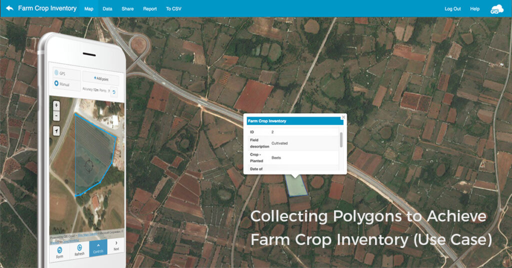 farm corp inventory and crop scouting