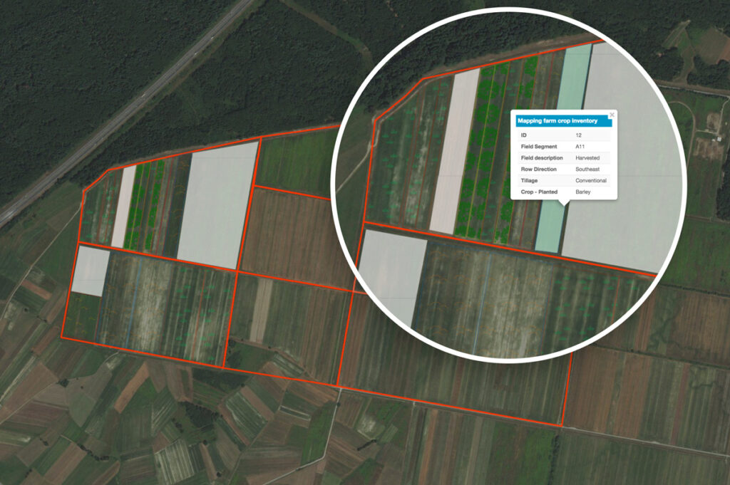 farm crop inventory map