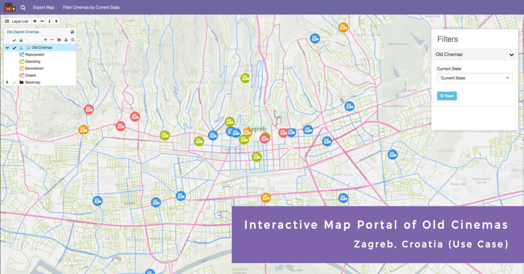 Discover the World of Old Zagreb Cinemas via Interactive Map
